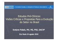 Evelyne Polack – Biogen Idec - IPD-Farma