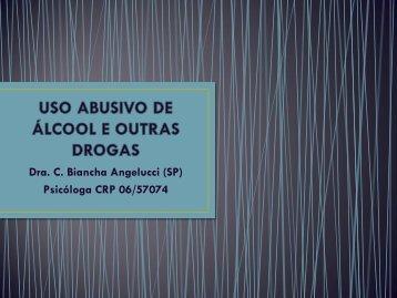 USO ABUSIVO DE ÁLCOOL E OUTRAS DROGAS - IPD-Farma