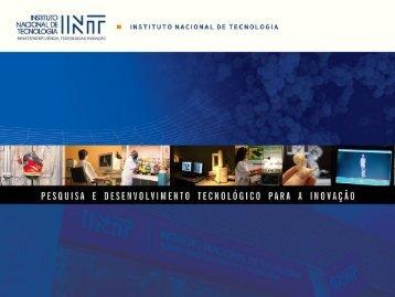 INSTITUTO NACIONAL DE TECNOLOGIA | Pesquisa e ... - IPD-Farma