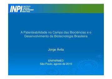 Jorge – Ávila – INPI - IPD-Farma