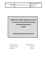 Product Requirement Document - H-SAF
