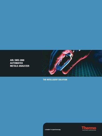 ARL SMS 2000 - Simar Analytical