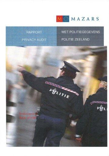 politie Zeeland