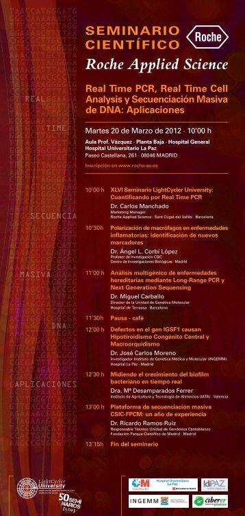Actos Científicos 2012 - IdiPAZ
