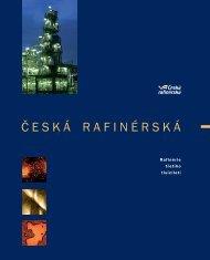profil společnosti - Česká rafinérská, as