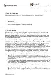 Evaluationskonzept - FernUniversität in Hagen