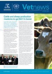 Vetnews alumni newsletter - Faculty of Veterinary Science