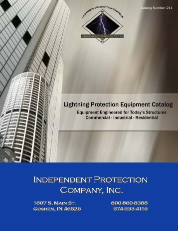2011 Catalog Cover New Final 2-4.pub - Independent Protection ...