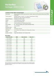 Vantage 3000 C S10 Metric - Verderflex