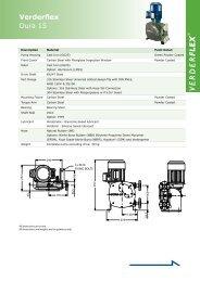 Dura 15 Metric - Verderflex