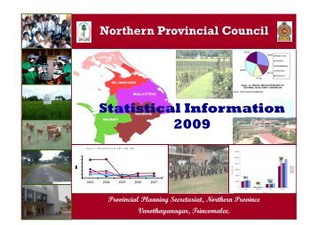to download Statistical Information 2009 - Northern Provincial Council
