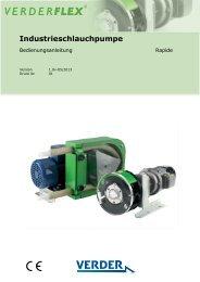 Industrieschlauchpumpe - Verderflex