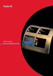Delårsrapport januari–september 2012 - Studsvik