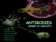 ANTIBODIES Agents of Immunity