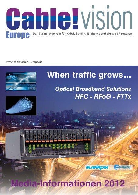 Cable Vision Europe Mediadaten 2012 - New Business Verlag