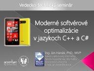 prezentácia - Fakulta hospodárskej informatiky