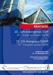 Abstracts - congress-info.ch | Home