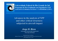 Advances in the analysis of NPP and other critical structures ...