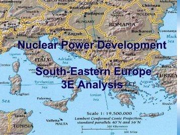 Nuclear Power Development South-Eastern Europe 3E Analysis