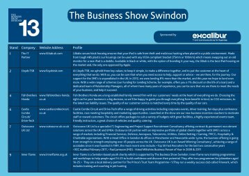 The Business Show Swindon - Business West