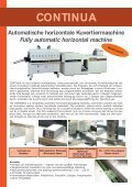 CONTINUA Automatische horizontale ... - Packtech-GmbH - Seite 2