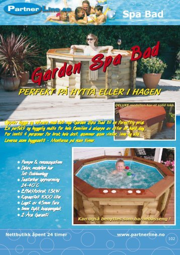 Garden Spa Bad Garden Spa Bad Garden Spa Bad ... - Partnerline AS