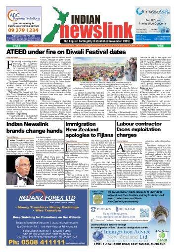 Indian Newslink Digital Edition - June 15, 2015