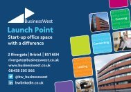 Launch Point Flyer - Business West