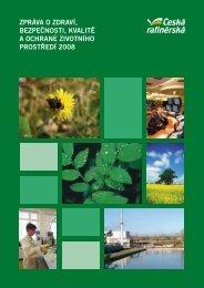 Zpráva o Zdraví, beZpečnosti, kvalitě a ochraně životního prostředí ...