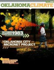 2008 OKLAHOMA CLIMATE - Oklahoma Climatological Survey