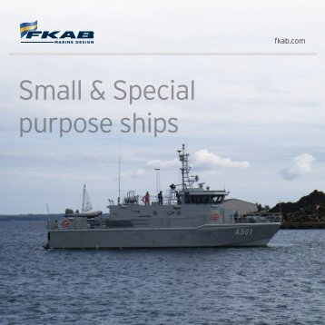 Small & Special purpose ships - FKAB