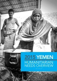 Yemen Humanitarian Needs Overview 2015 (Revised)