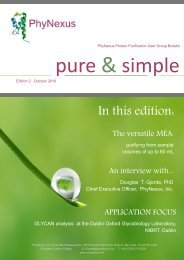Edition 2: October 2010 - PhyNexus, Inc.