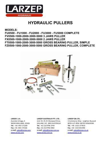 HYDRAULIC PULLERS - Larzep Australia Pty Ltd
