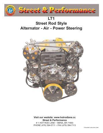 magnum iii street performance power steering street performance