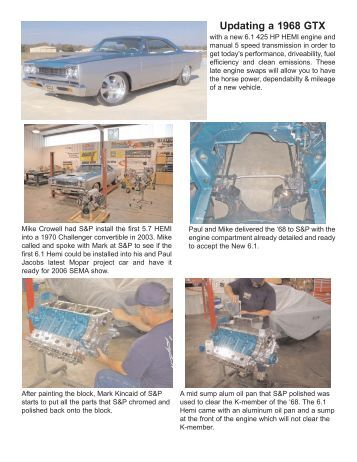 ls 1 wiring harness street performance wire harness installation instructions painless performance updating a 1968 gtx street performance