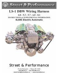 LS-1 Wiring Harness Street & Performance