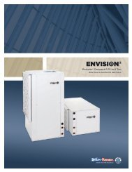 Envision2 Compact 0.75 to 6 Ton - WaterFurnace