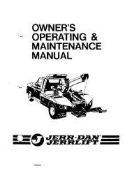Jerr-Dan Jerr-Lift - Twin State Equipment