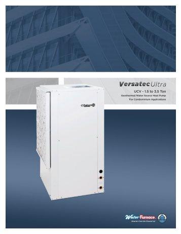 UCV - 1.5 to 3.5 Ton - WaterFurnace