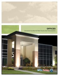 OFFICES - WaterFurnace