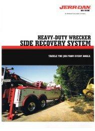 Jerr-Dan Heavy Duty Wrecker Side Recovery System - Twin State ...