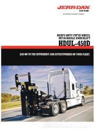 Jerr-Dan HDUL-450D Fifth Wheel Underlift - Twin State Equipment