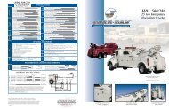 Jerr-Dan HDL 500/280 25 Ton Integrated - Twin State Equipment