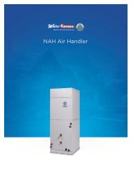 Air Handler - WaterFurnace