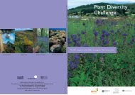 Plant Diversity Challenge - Convention on Biological Diversity
