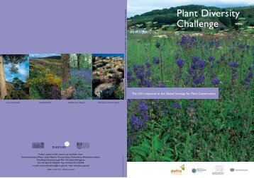 Plant Diversity Challenge - Convention on Biological Diversity