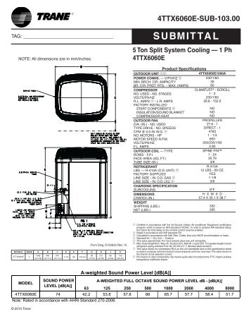 trane submittal 5 ton split system cooling chapman air heat trane 5 ton package unit wiring diagram conventional fire alarm trane ycd090 wiring diagram at soozxer.org