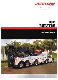 Jerr-Dan 70 85 Rotator - Twin State Equipment