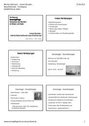 Aromapflege Innere Verletzungen Innere ... - Ostalb-Klinikum